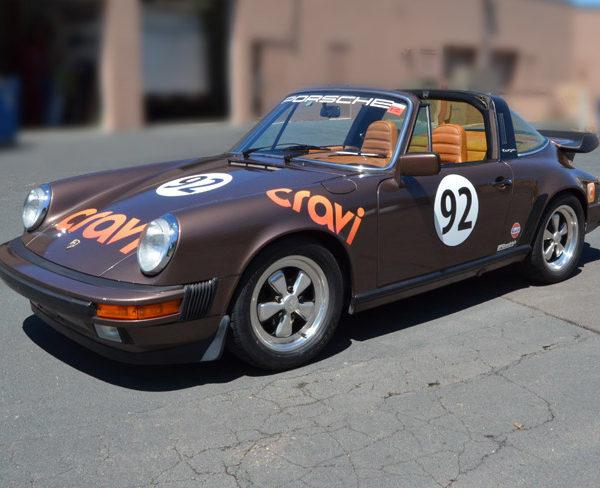 Custom Vehicle Wrap_Vintage Porsche