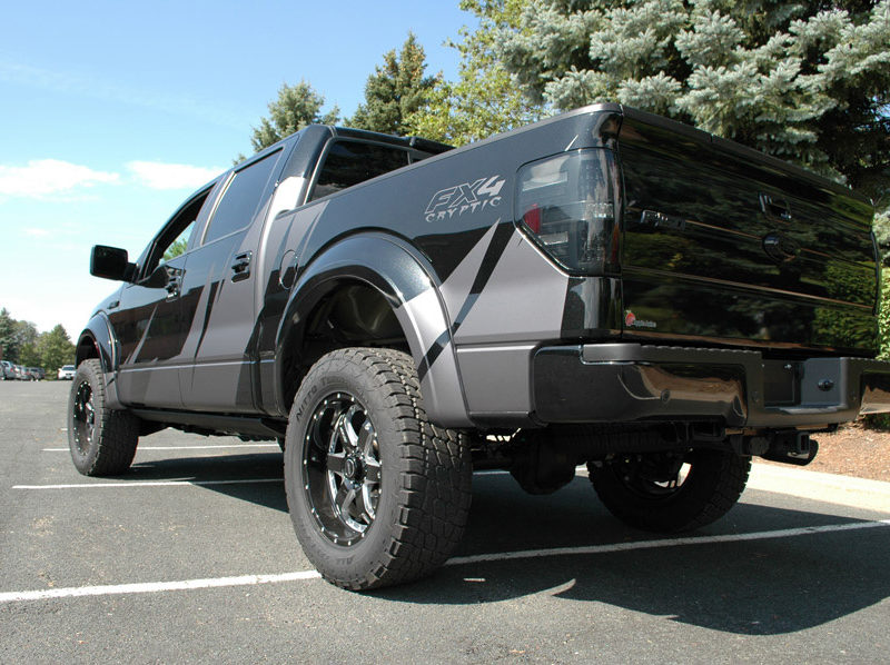 Custom Vehicle Wrap_Ford Raptor