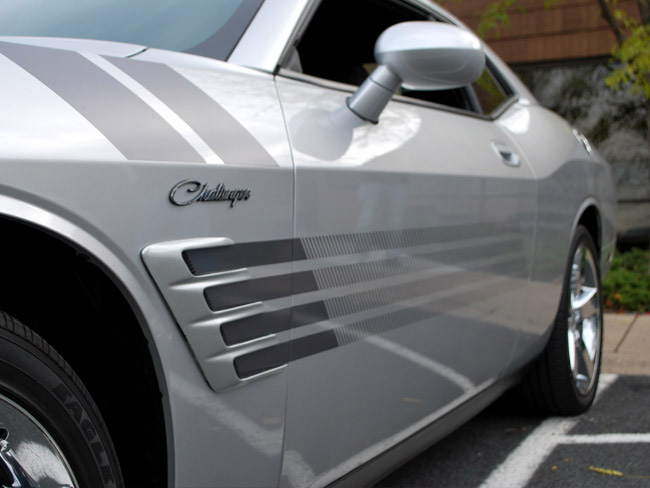 Custom Vehicle Wrap_Side Stripe