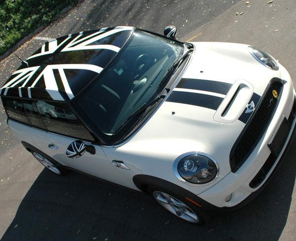 Custom Vehicle Wrap_Mini Roof Wrap