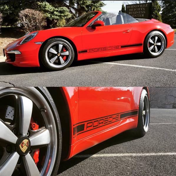 Porsche 911 - Factory Stripe Kit