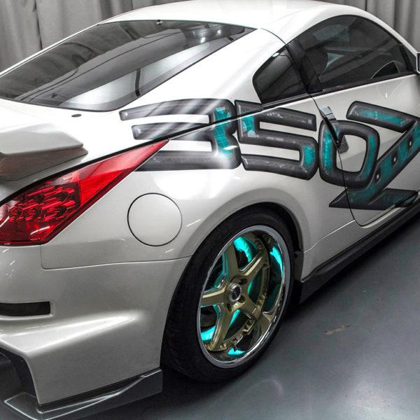 Nissan 350Z - Custom Wrap
