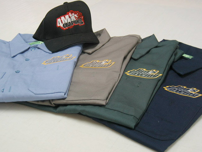 Commercial Embroidered Apparel and Accessories