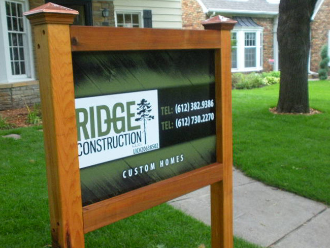 Exterior Signs_Ridge Construction