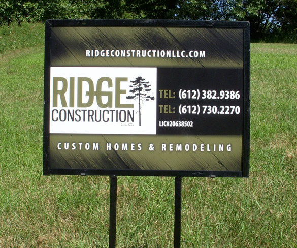 Exterior Signs_Ridge Construction
