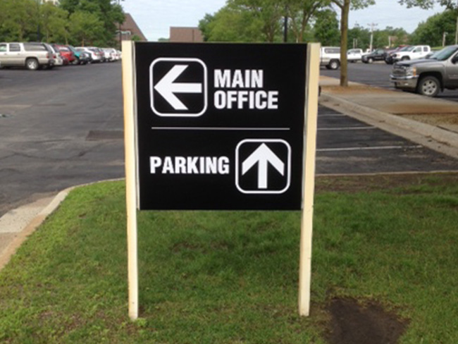 Directional & Informational Signage