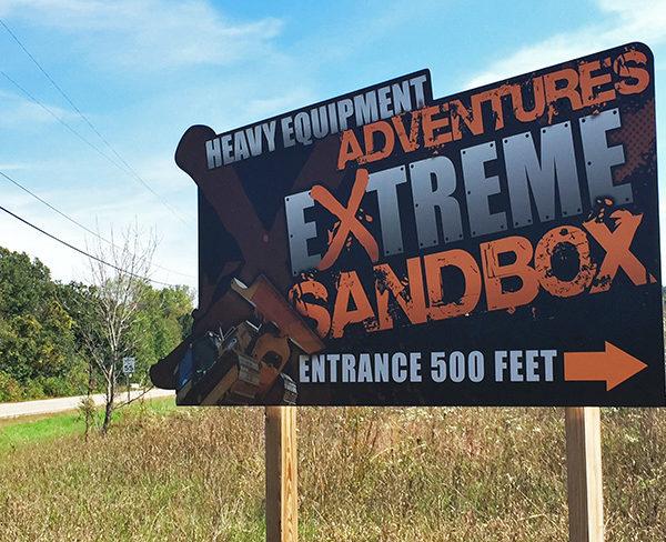 Exterior Signs_Extreme Sandbox Directional