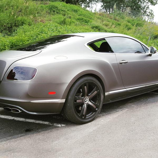 Bentley Continental GT 3M 1080 Matte Charcoal Metallic