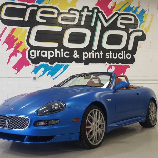 Maserati GranSport 3M 1080 Satin Perfect Blue