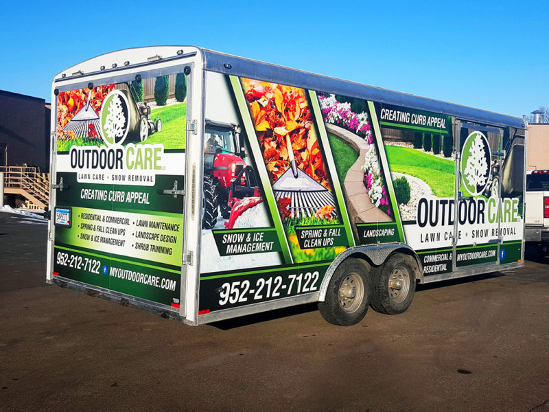 Vehicle Graphics_Outdoor Care