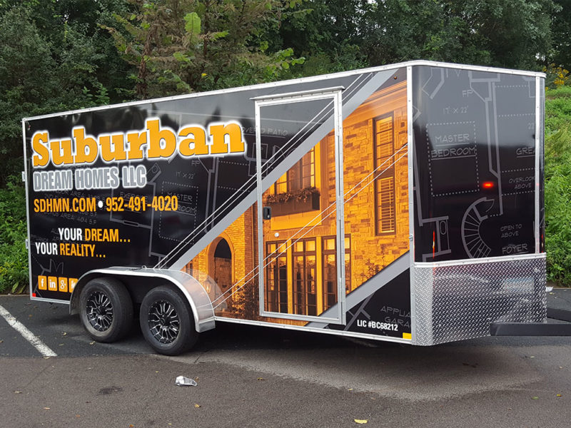 Vehicle Graphics_Suburban Dream Homes