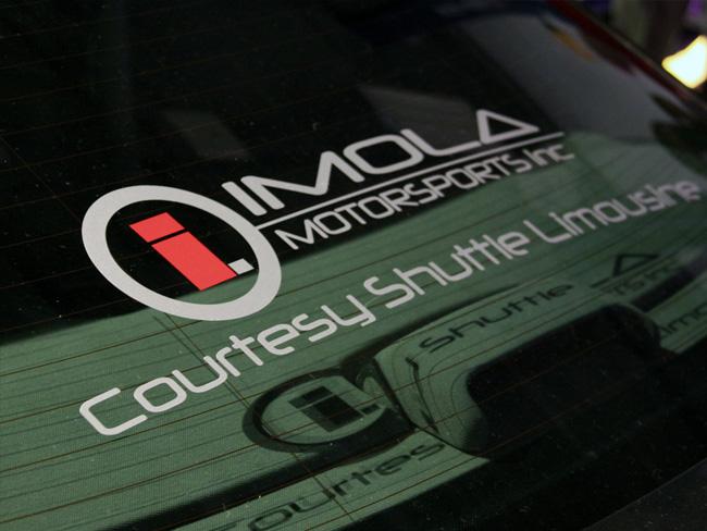 Window Graphics - Imola