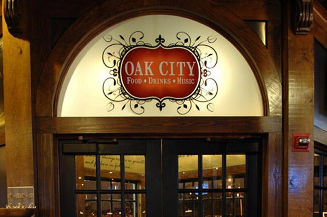 Window Graphics - Oak City