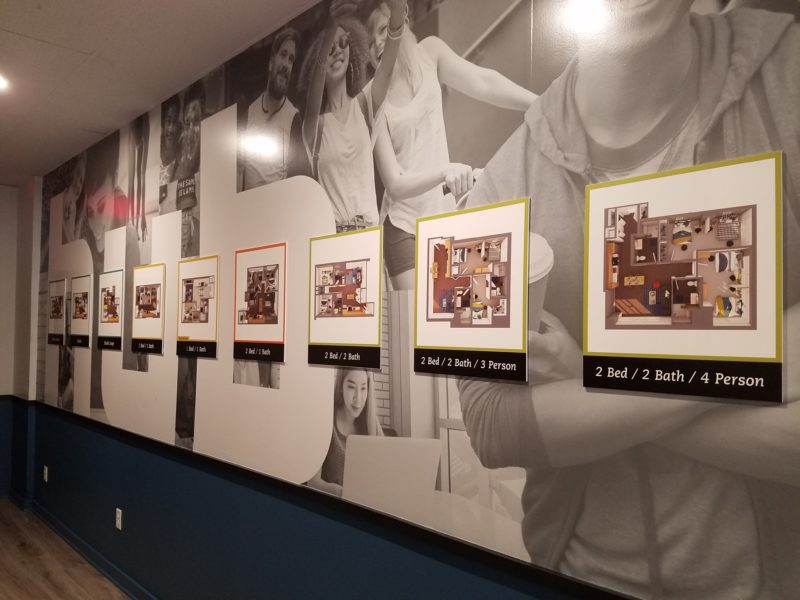 Branded Environment - The HUB Minneapolis