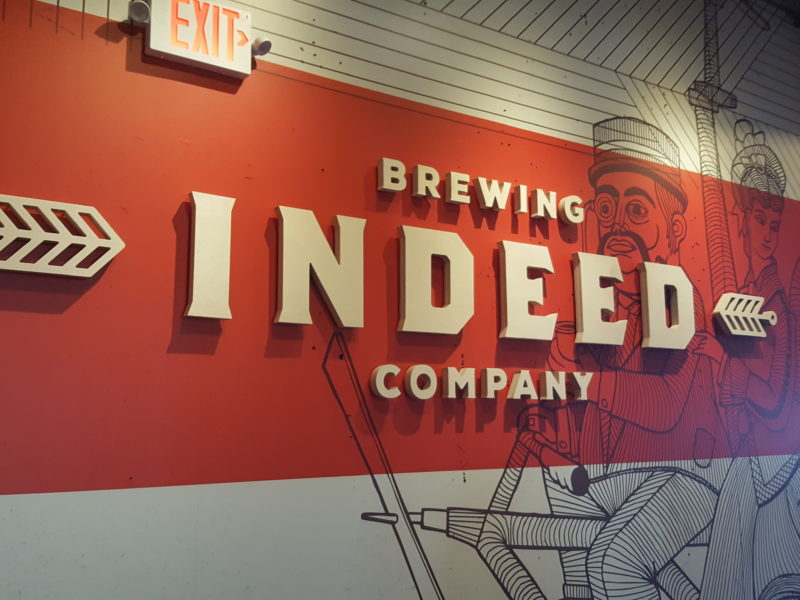 Indeed Brewery - Logo Wood Letterset
