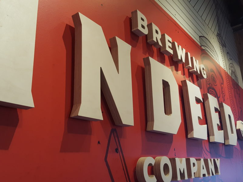 Interior Signs_Indeed Brewing