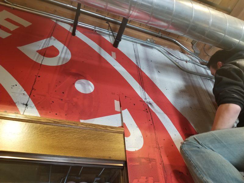 Indeed Brewery - Installation
