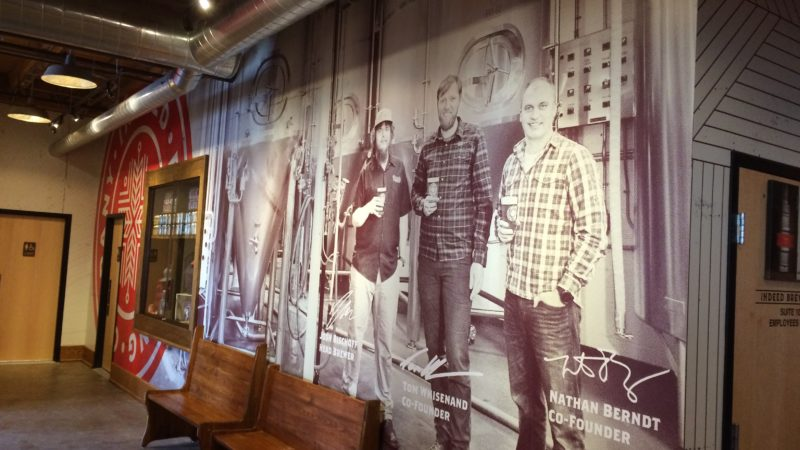 Indeed Brewery - Ownership Head Brewer Mural