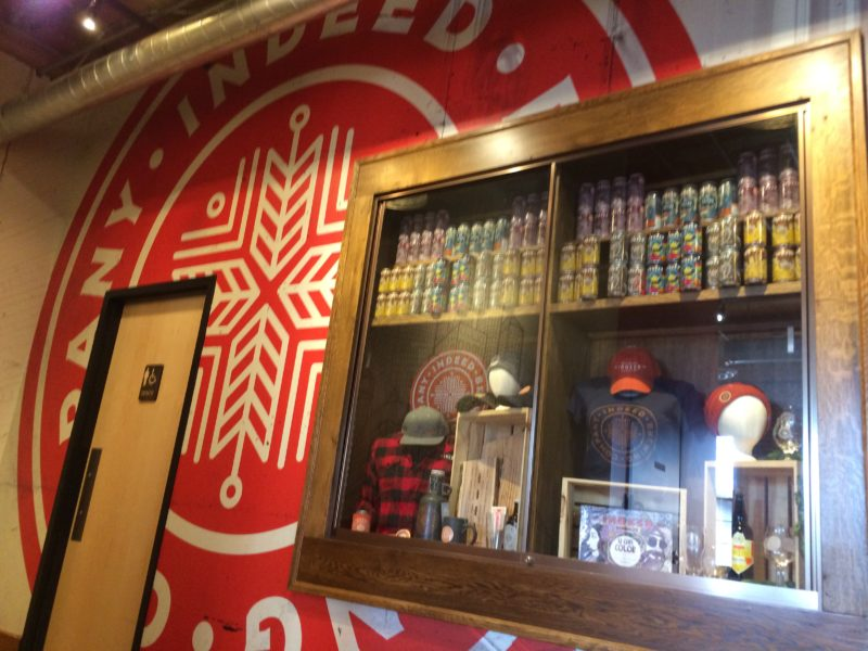 Indeed Brewery - Swag Mural