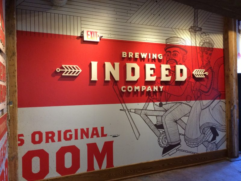 Indeed Brewery - Entrance Logo