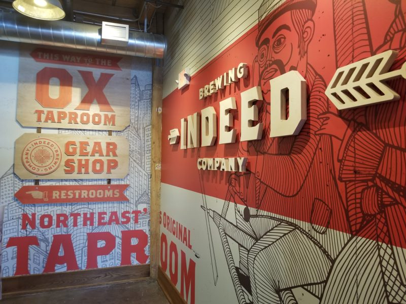 Indeed Brewery - Branded Environment