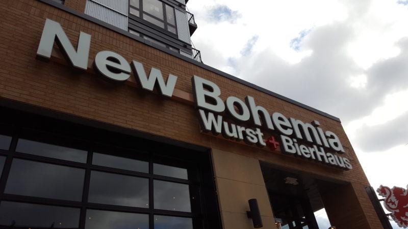 New Bohemia - St. Paul - Exterior Signage