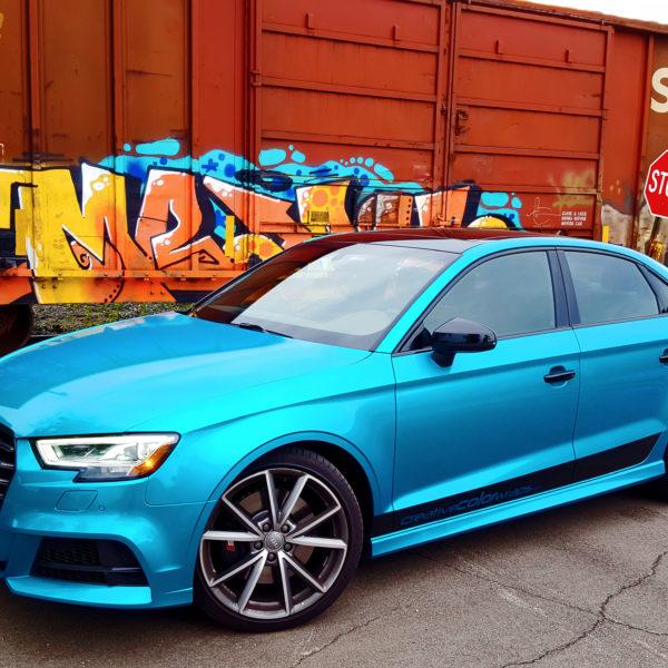 Audi S3 Gloss Atomic Teal 3M 1080