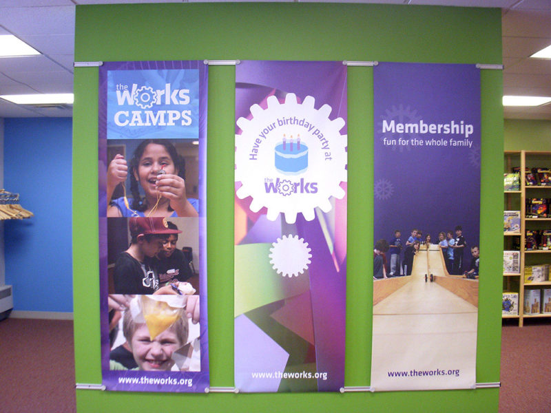 Banners_Works Museum