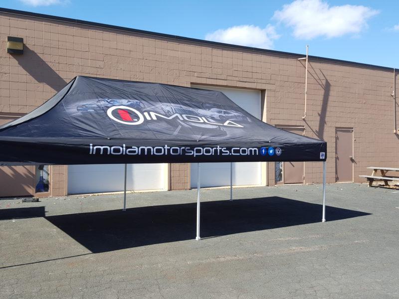 EZUP Tent - Imola Motorsports
