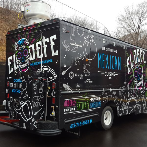 El Jefe Food Truck Wrap Creative Color Inc