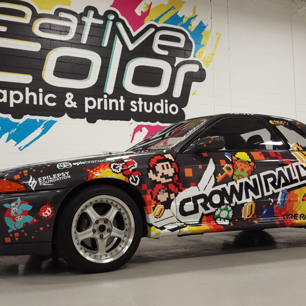 Crown Rally - 8 Bit Wrap