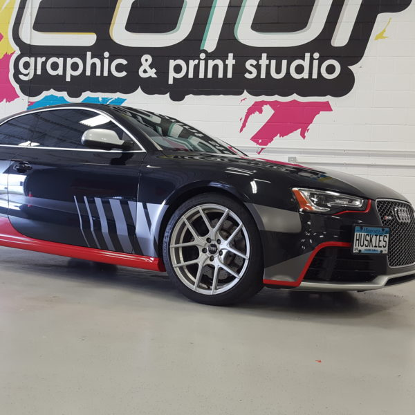 Custom Vehicle Wrap_Audi Jaguar