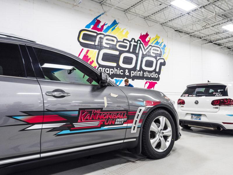 Kannonball Rally - Custom Graphics