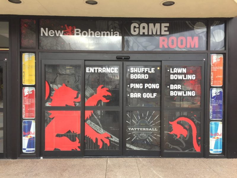 Window Graphics - New Bohemia