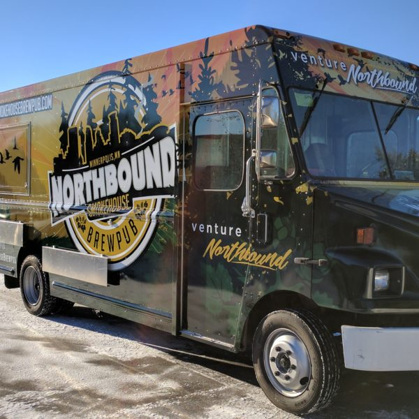 Northbound Brewpub - Food Truck Wrap
