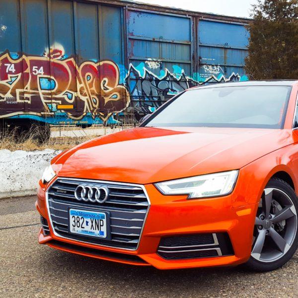 Audi A4 Quattro Gloss Fiery Orange 3M 1080