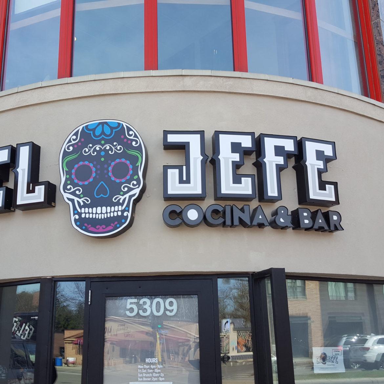 Illuminated Signs_El Jefe