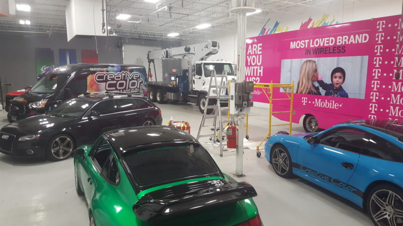 Creative Color Wrap Facility