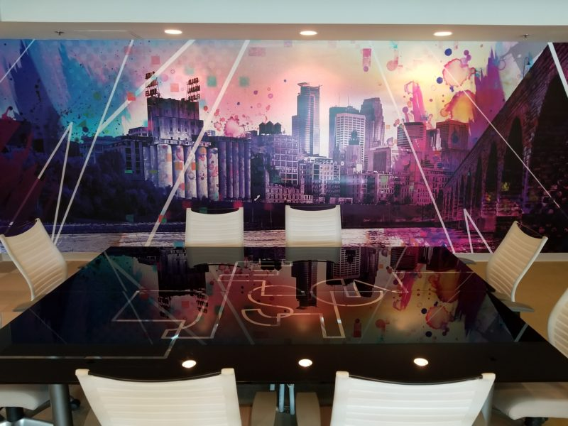 Creative Color Conference Room
