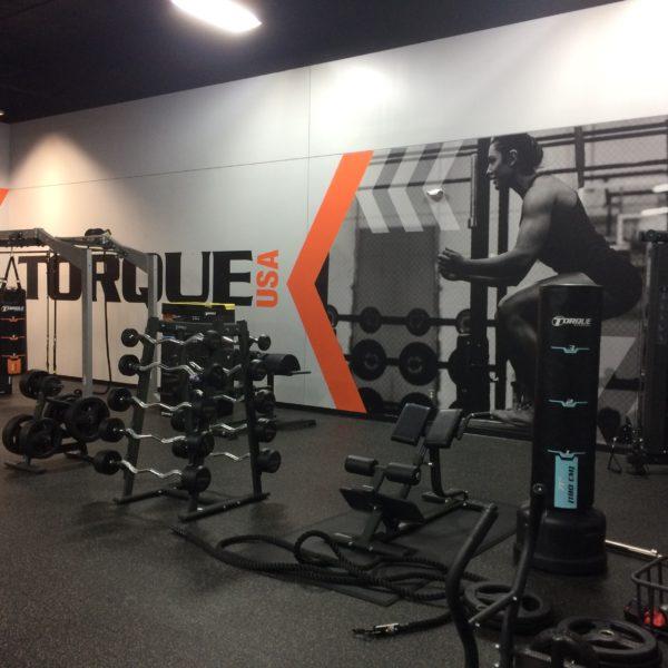 Branded Environment - Torque Gym