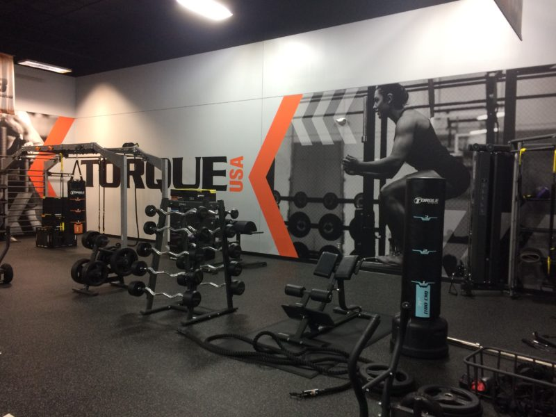 Branded Environment - Torque Gym