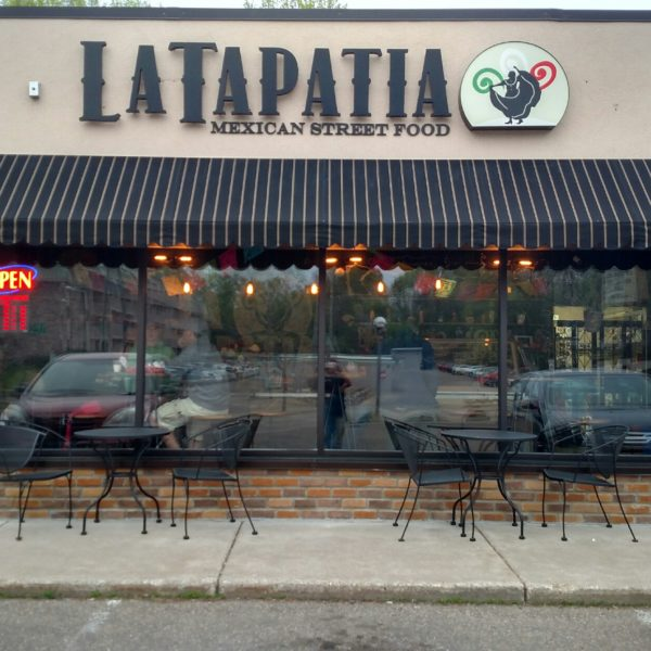 LaTapatia - Illuminated Channel Letter Sign