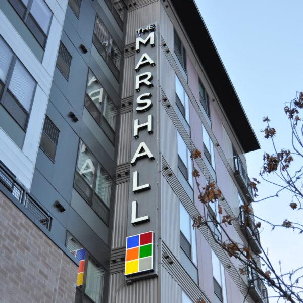 Illuminated Signs_The Marshall