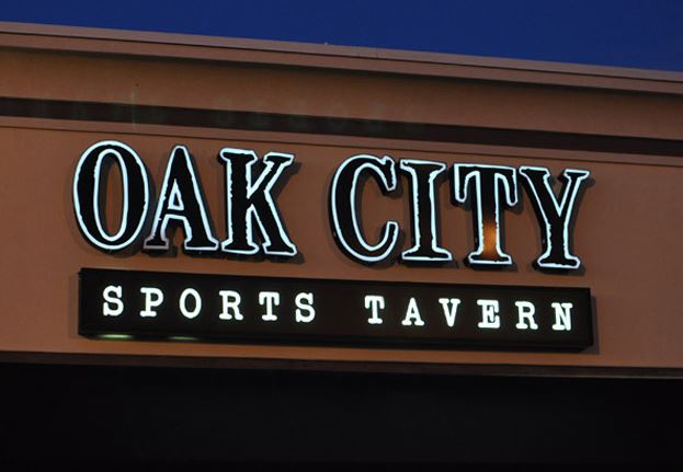 Oak City Sports Tavern - Channel Letters