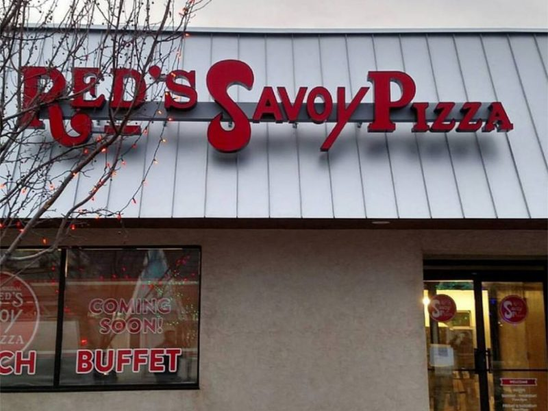 Red's Savoy Pizza - Channel Letters