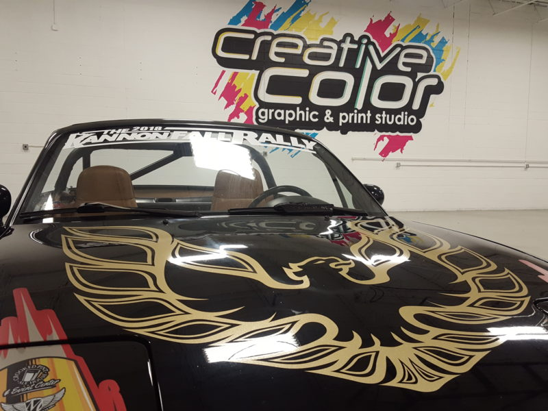 Custom Vehicle Wrap_Hood Wrap