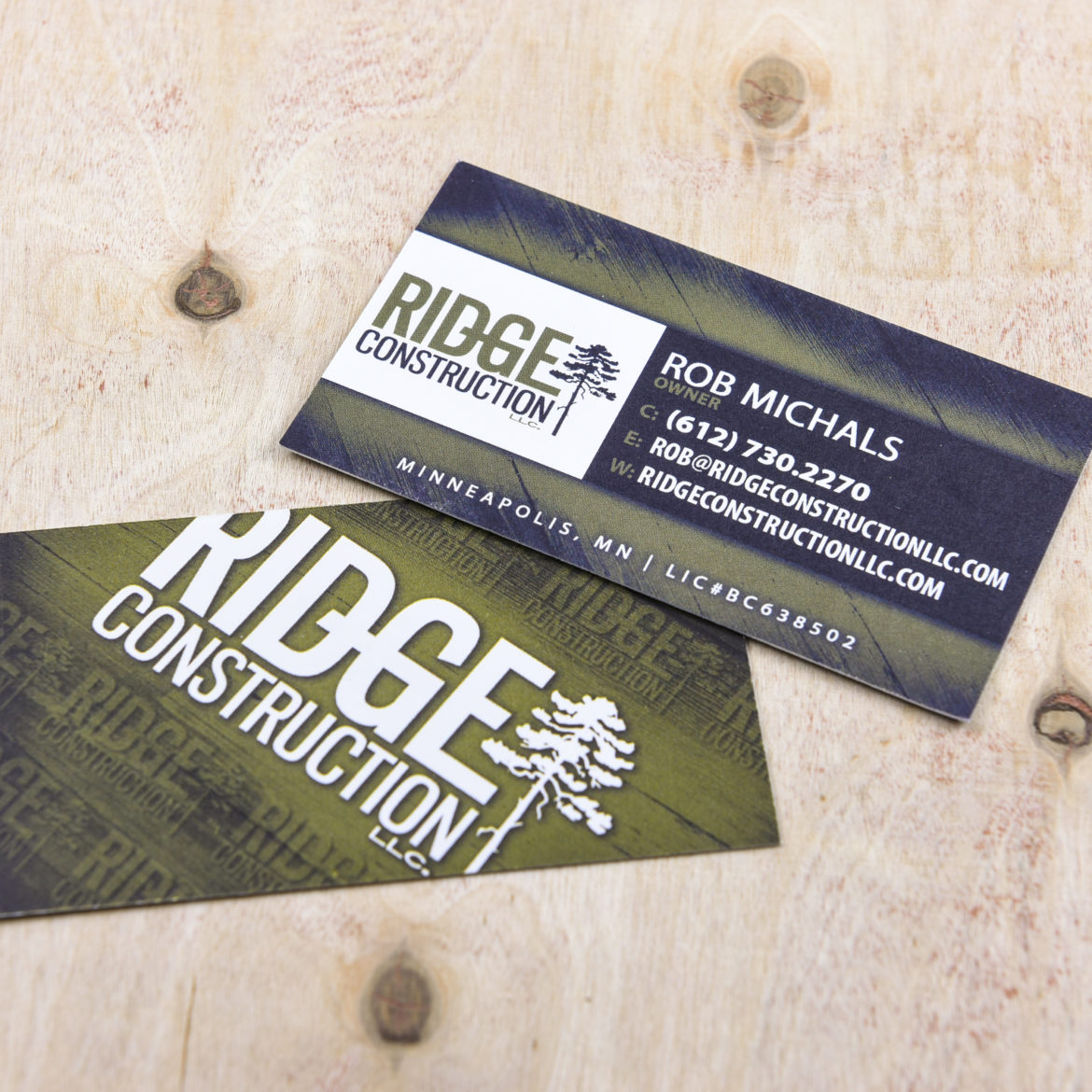 Print Design_Ridge Construction