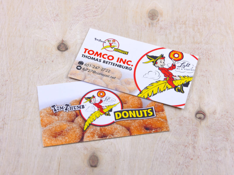 Print Design_Tom Thumbs Donuts