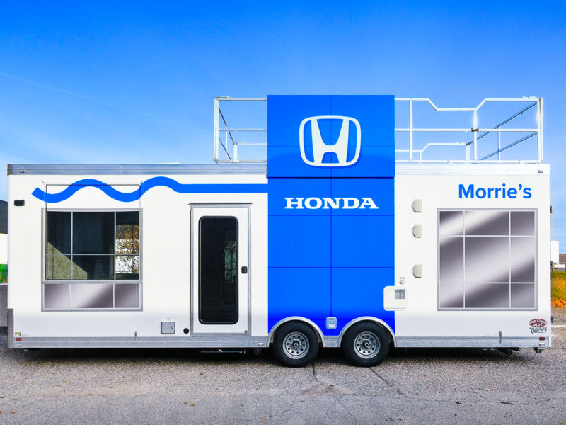 Vehicle Graphics_Honda Morries