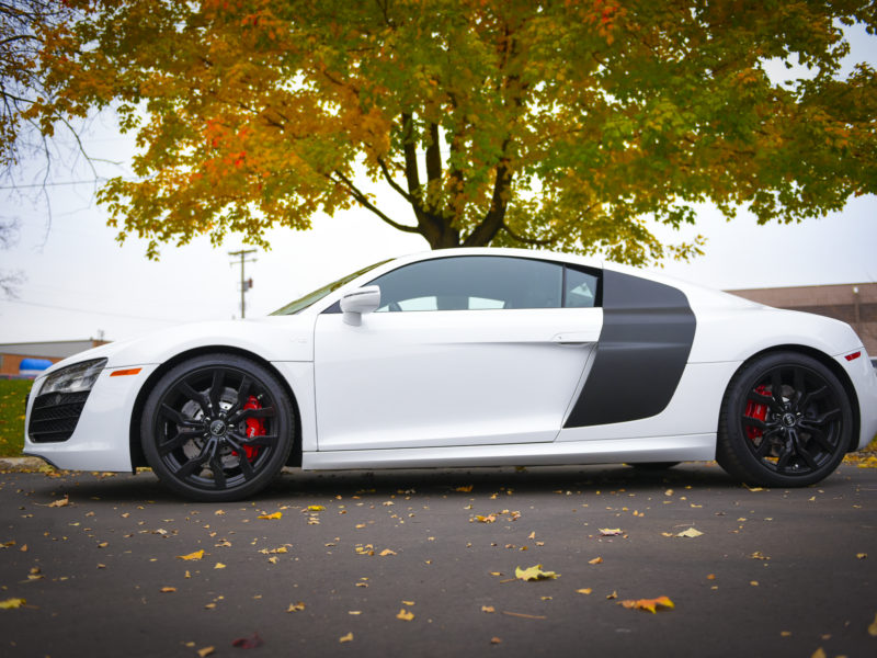 Customer Vehicle Wrap_Audi R8 Carbon Fibre